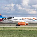 """Флот авиакомпании """"Азимут"""" пополнился девятым Superjet 100"""