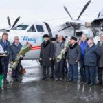 """ФОТО: Казахстанская авиакомпания """"Жетысу"""" получила два L-410UVP-E20"""