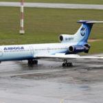 """ФОТО: Второй самолет  Ту-154М авиакомпании """"Алроса"""" получил новую ливрею"""