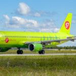 S7 Airlines переоснастит салоны самолетов АirbusA320 в full economy